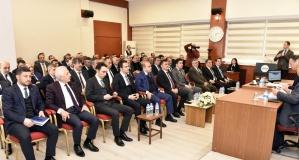 Gümüşhane'de 2020 yılının ilk İl Koordinasyon Kurulu toplantısı yapıldı