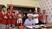 Gümüşhanespor'da 8 yeni futbolcu imza attı