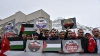 Gümüşhane'de STK'lar Kudüs için basın açıklaması yaptı