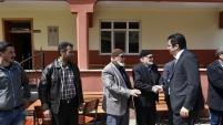 Vali Memiş köy ziyaretlerine Kelkit'te başladı