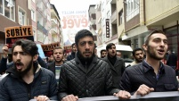 İdlib katliamı Gümüşhane'de kınandı