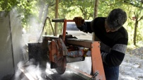 Gümüşhane'den Avrupa'ya lezzet veren taş ihracatı
