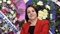 Gümüşhane'nin tek kadın oda başkanı yeniden seçildi