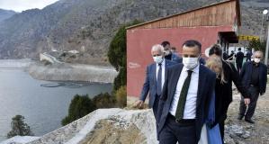Gümüşhane'nin ilk zipline tesisi Torul'da yapılıyor
