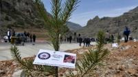 Gümüşhane'de şehit polis Olgun Gülay anısına hatıra ormanı oluşturuldu