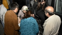 Trafik kazasında vefat eden emniyet amiri memleketine uğurlandı