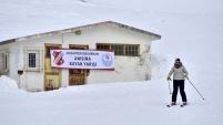 Zigana dağında kayak yarışmaları yapıldı