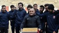 Gümüşhanespor Ankaragücü maçının hazırlıklarına başladı