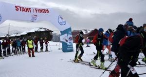 Dağ Kayağı Türkiye Şampiyonası Zigana Dağında başladı