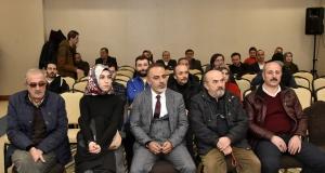 Gümüşhane Gazeteciler Cemiyetinde Sezai Köprülü güven tazeledi