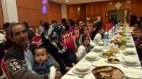 Gümüşhane'deki göçmenler iftar yemeğinde buluştu