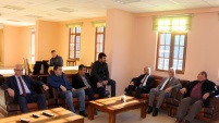 Rektör Zeybek'ten Gümüşhanespor'a tatlı ikramı