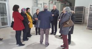 Kent Konseyi'nden Gümüşhane İŞGEM'e ziyaret