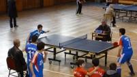 Masa tenisi yıldız kız-erkek müsabakaları yapıldı