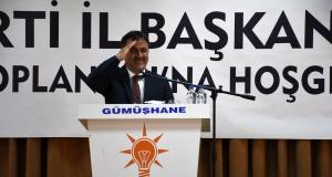 AK Parti Genel Başkan Yardımcısı Erkan Kandemir Gümüşhane'de