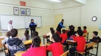 Torul'da suç çeşitlerine yönelik bilgilendirme çalışması yapıldı