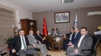 Milletvekili Üstün ve Özbek'ten Enerji Bir-Sen'e Ziyaret