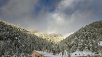Zigana geçidinde kış güzelliği
