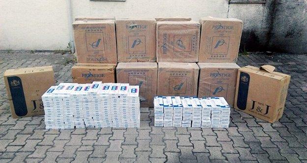 Gümüşhane'de 13 bin 470 paket kaçak sigara ele geçirildi