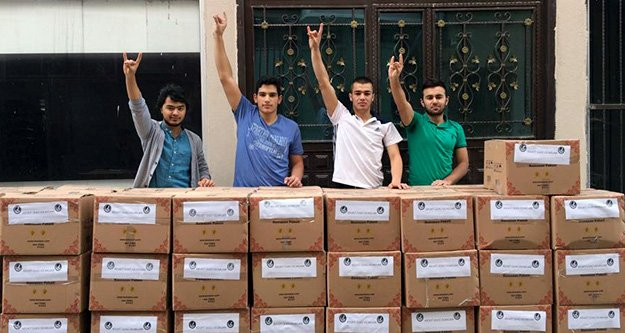 'Türkmeneli'ne Türk'ün Elini Uzat' kampanyası devam ediyor