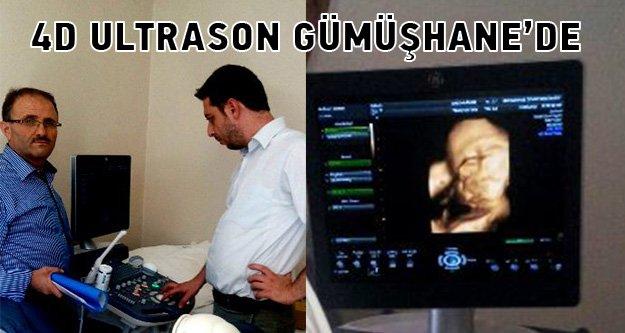 Bebek bekleyenler müjde! 4 boyutlu ultrason Gümüşhanede