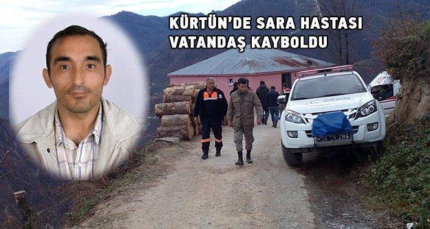 Kürtün'de sara hastası vatandaş kayboldu