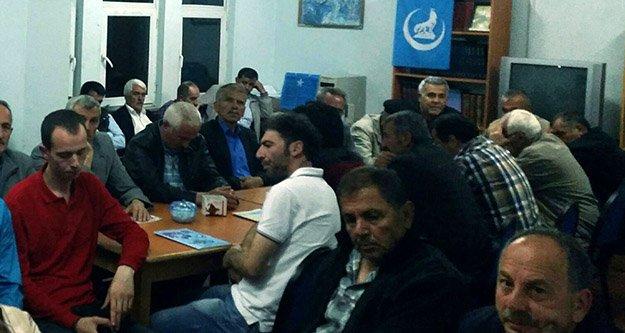 Torul Ülkü Ocakları'ndan Torul şehidine vefa