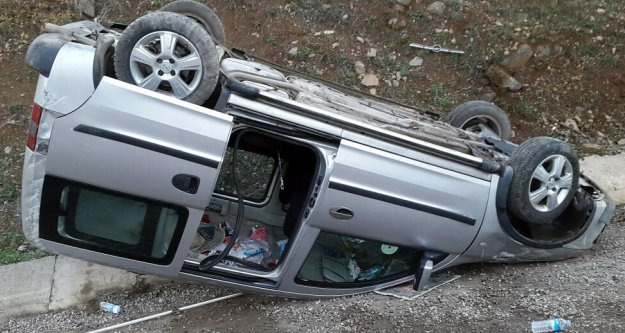 Gümüşhanede Kaza: 5 Yaralı