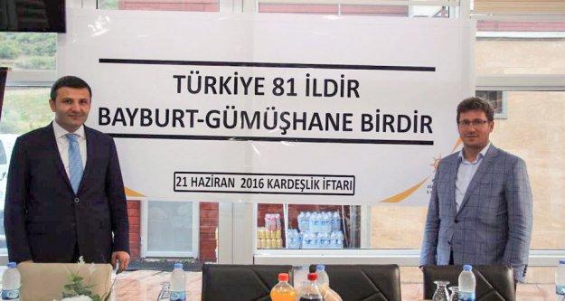 AK Parti'de kardeşlik iftarı