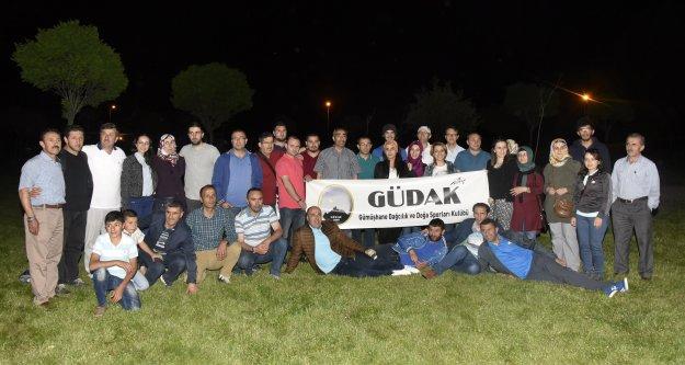 Dağcılardan geleneksel iftar programı