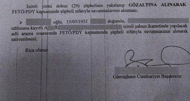 Gümüşhane'deki FETÖ/PDY operasyonu: 7 tutuklu