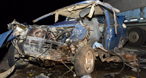 Gümüşhane'de 2015 yılında bin 168 trafik kazası oldu