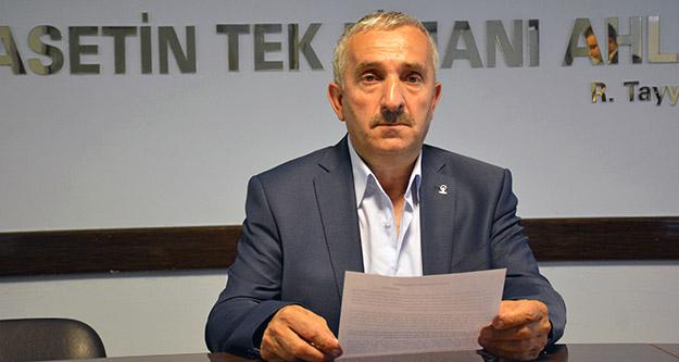 AK Parti Şiran İlçe Başkanı Kara'dan 'Kardeş' istifası