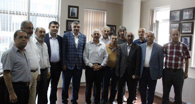 AK Partiden teşekkür ziyaretleri
