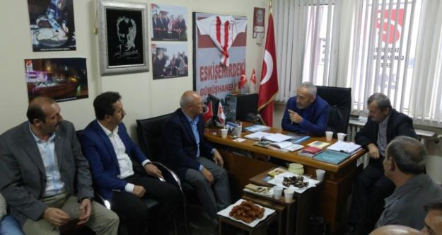 Milletvekili Çakıröz'den Gümüşhaneliler Derneğine ziyaret