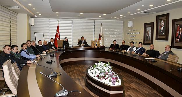 Belediye Meclisi'nin Ocak ayı toplantıları başladı