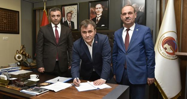 Belediye memurlarının sosyal denge tazminatı sözleşmesi imzalandı