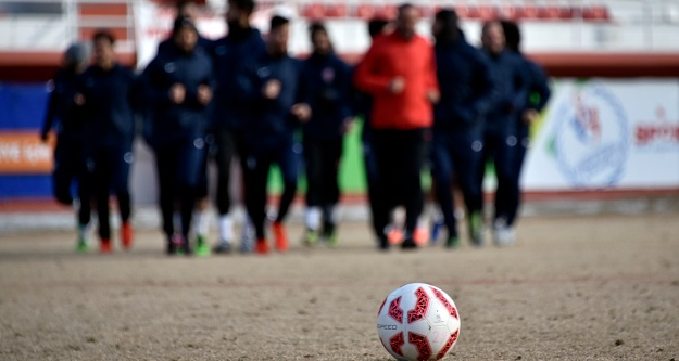 Gümüşhanesporda Trabzonspor maçı hazırlıkları