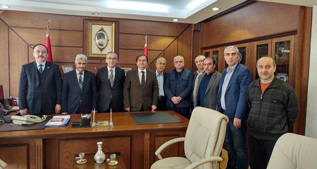 SAMGÜDEF'ten Emniyet Müdürü Yavuz'a ziyaret