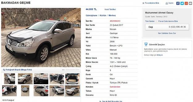 Araç satış ilanını şiirle yaptı, sosyal medya yıkıldı