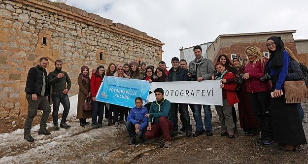 Genç fotoğrafçılar Köse'de