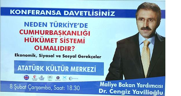 'Neden Türkiye'de Cumhurbaşkanlığı Hükümet sistemi'