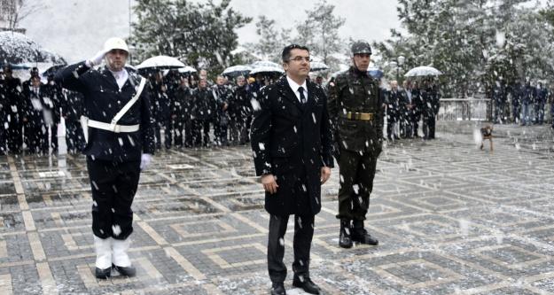 Gümüşhane'de Çanakkale Zaferi ve Şehitleri Anma Günü kutlamaları