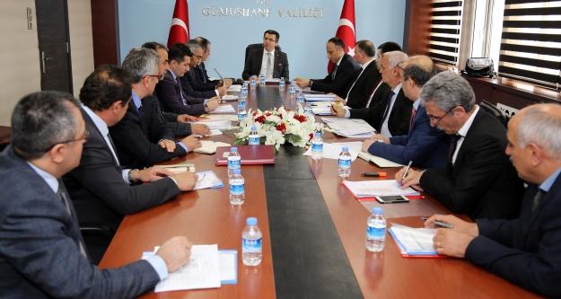 Gümüşhane'de KÖYDES İl Tahsisat Komisyonu Toplantısı yapıldı