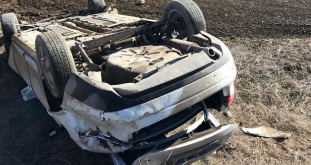 Kelkitte trafik kazası: 3 yaralı