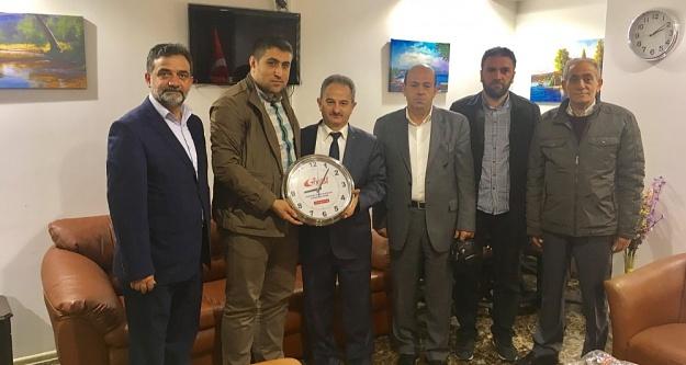 GİYAD'dan, Başsavcı Vekili Adem Meral'e Ziyaret