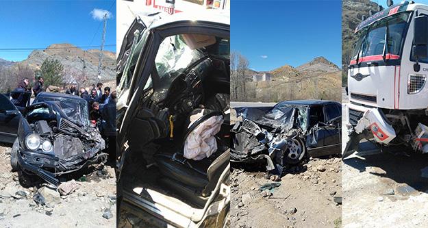 Gümüşhanede feci kaza: 1 yaralı