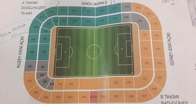Dev maçın biletleri satışa sunuluyor