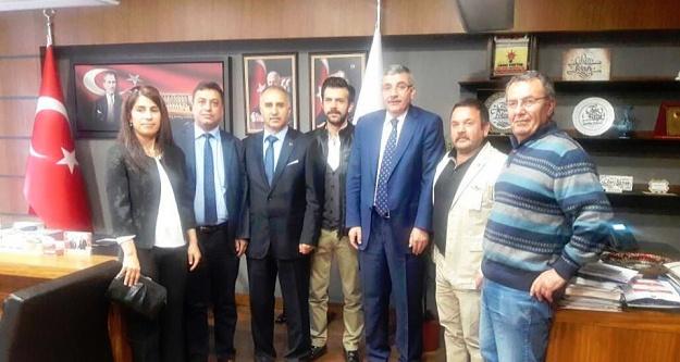 GİAD'dan Pektaş ve Türkiye Kalkınma Vakfı'na ziyaret