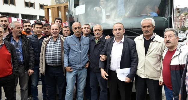 Gümüşhanespor sevdalıları akın akın İstanbul'a gidiyor